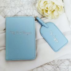 Baby's First Travel Gift Set - Blue