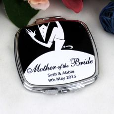 Mother of the Bride Compact Mirror - Personalised