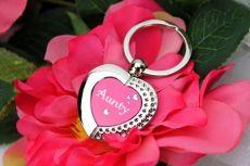 Aunty Heart Keyring Gift