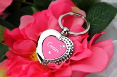 Grandma Heart Keyring Gift