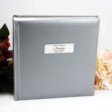 Personalised Silver Birthday Album