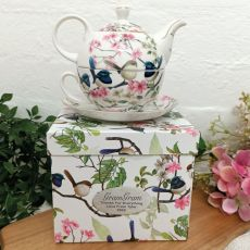 Tea For One In Blue Wren Grandma Gift Box