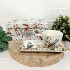 Aussie Birds Breakfast Set Cup & Sauce in Birthday Box