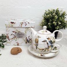 Kookaburra Tea for one in Personalised Birthday Gift Box