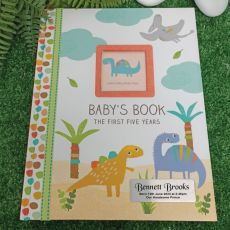 Baby Record Book First 5 Years - Dinosaurs