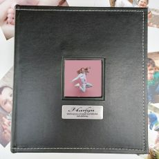 16th Birthday Personalised Black Album 5x7 Photo