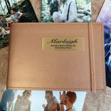 Personalised Aunt Brag Album - Copper 4x6