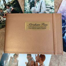Personalised Memorial Brag Album - Copper 4x6