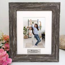 13th Birthday  Personalised Photo Frame Hamptons Brown 5x7