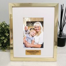 Grandma Personalised Photo Frame 4x6 Gold