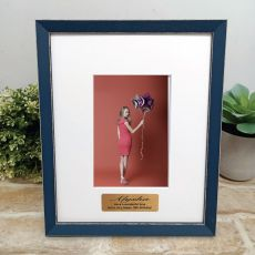 Personalised 18th Birthday Photo Frame Amalfi Navy 4x6