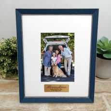 Personalised Grandma Photo Frame Amalfi Navy 4x6