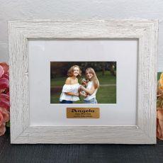 Personalised 13th Birthday Frame Hamptons White 4x6