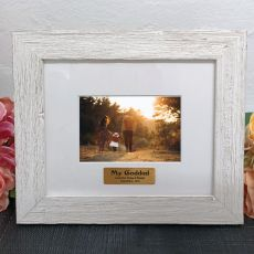 Personalised GodFather Frame Hamptons White 4x6