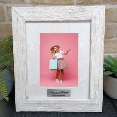 13th Birthday Personalised Frame Hamptons White 5x7