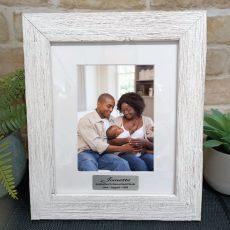Godmother Personalised Frame Hamptons White 5x7