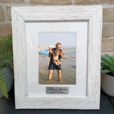 Uncle Personalised Frame Hamptons White 5x7