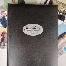 Personalised 80th Birthday Album 300 Photo Black