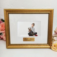 21st Birthday Photo Frame 4x6 Majestic Gold