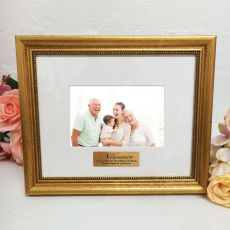 Nan Photo Frame 4x6 Majestic Gold