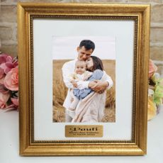 GodFather Personalised Frame 5x7 Majestic Gold