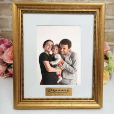 Mum Personalised Frame 5x7 Majestic Gold