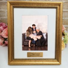 Nan Personalised Frame 5x7 Majestic Gold