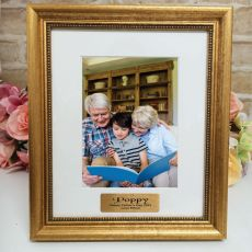 Pop Personalised Frame 5x7 Majestic Gold