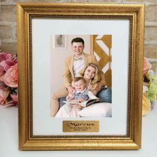 Uncle Personalised Frame 5x7 Majestic Gold