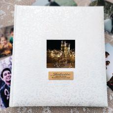 40th Birthday Drymount Photo Album Lace