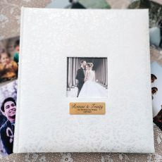 Wedding Drymount Photo Album Lace