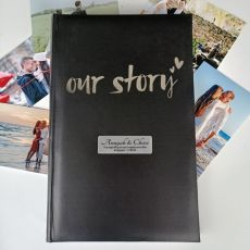 Our Story Personalised Engagement Album 300 Photos
