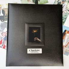60th Birthday Photo Album 500 Black