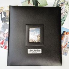 Personalised  Photo Album 500 Black
