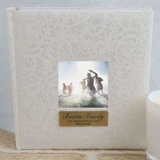 Personalised Cream Lace  Photo Album - 200
