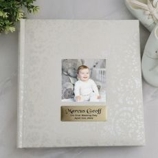 Personalised Cream Lace Naming day Photo Album - 200