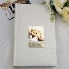 Personalised Birthday Photo Album - 300 Cream Lace