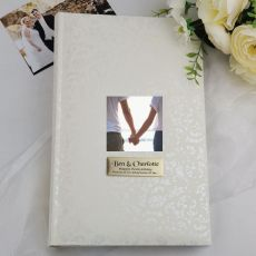 Personalised Cream Lace  Photo Album - 300