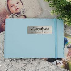 Personalised Grandma Brag Photo Album - Blue
