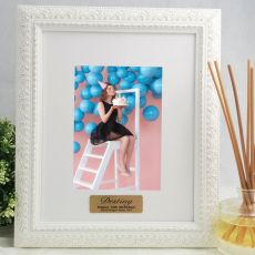 13th Personalised Photo Frame Venice White 5x7