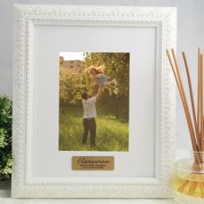 Godfather Personalised Photo Frame Venice White 5x7