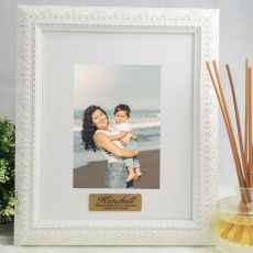 Godmother Personalised Photo Frame Venice White 5x7