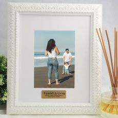 Godparent Personalised Photo Frame Venice White 5x7