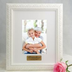 Grandma Personalised Photo Frame Venice White 5x7