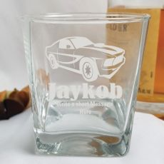 Engraved Personalised Scotch Spirit Glass (M)