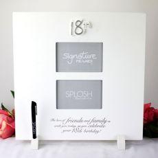 18th Birthday Signature Frame - Huge 40cm