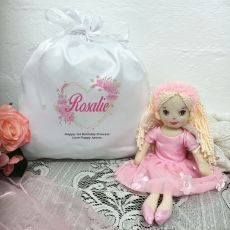 Fairy Doll Willow with 1st Birthday Play Sack