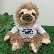 Personalised Dad Sloth Plush - Curtis