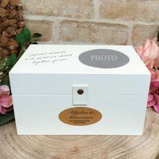 Personalised Wedding 4x6 Photo Box
