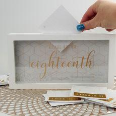 18th Birthday Message Keepsake Box